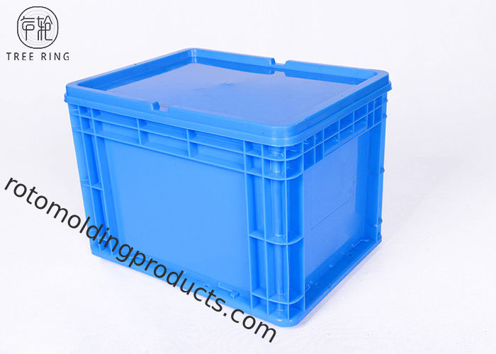 26 Liter Euro Stacking Large Stackable Plastic Storage Bins With Lids 400 * 300 * 280