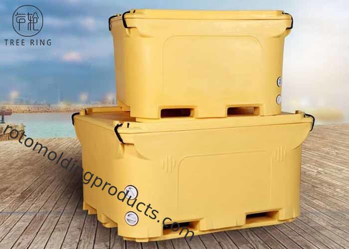 Industrial Ice Cooler Roto Molded Cooler Box Insulted For Fish Storage Over 300quart